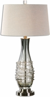 Uttermost 26905 Durazzano Gun Metal Table Top Lamp