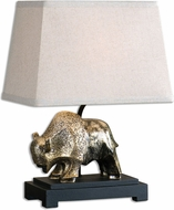 Uttermost 27011-1 Ayani Textured Antiqued Gold Table Lamp Lighting
