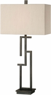Uttermost 27016-1 Demer Oil Rubbed Bronze Table Lighting