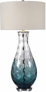 Uttermost 27051-1 Vescovato Plated Brushed Nickel Table Lighting