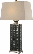 Uttermost 27053 Casale Plated Brushed Nickel Table Lamp Lighting