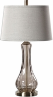 Uttermost 27085 Cynthiana Antiqued Brushed Brass Table Light