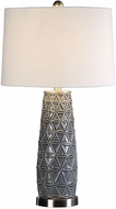 Uttermost 27219 Cortinada Stone Gray Table Lighting