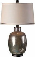 Uttermost 27239 Kalamaria Olive Gray Table Top Lamp