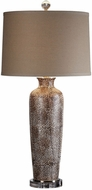 Uttermost 27267 Reptila Textured Ceramic Side Table Lamp