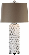 Uttermost 27270 Calla Lillies Gloss White Table Lighting