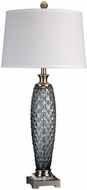 Uttermost 27272 Lonia Gray Glass Buffet Table Light