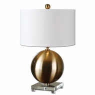Uttermost 27299-1 Laton 16 Wide Table Top Lamp