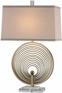 Uttermost 27320 Petrelli Plated Brass Iron Ring Lighting Table Lamp