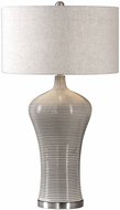 Uttermost 27570-1 Dubrava Light Gray Table Light
