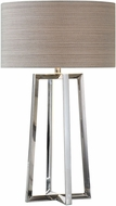 Uttermost 27573-1 Keokee Contemporary Stainless Steel Table Lighting