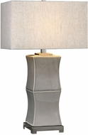 Uttermost 27708-1 Arris Aged Gray Table Light