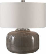 Uttermost 27727-1 Dhara Gray Glaze Table Lighting