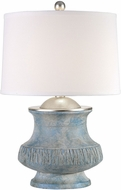 Uttermost 27784-1 Gavello Aged Blue Table Lamp