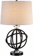 Uttermost 27788-1 Armilla Metal Orb Side Table Lamp