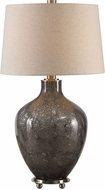 Uttermost 27802 Adria Brushed Nickel Plated Lighting Table Lamp