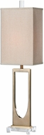 Uttermost 29193-1 Genivolta Brushed Brass Table Lamp