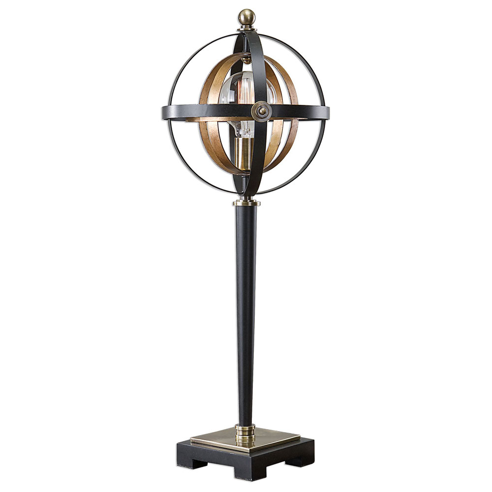 uttermost rondure modern dark oil rubbed bronze table lamp loading zoom