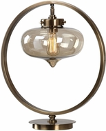 Uttermost 29358-1 Namura Modern Antiqued Plated Brass Accent Lighting