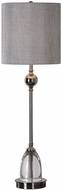 Uttermost 29368-1 Gallo Polished Nickel Buffet Table Lamp