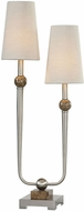 Uttermost 29376-1 Claret Modern Brushed Nickel Table Lighting