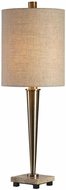 Uttermost 29379-1 Ennell Antiqued Brass Table Lamp Lighting