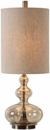 Uttermost 29538-1 Formoso Antique Brass Plated Steel Lighting Table Lamp