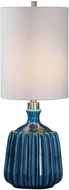 Uttermost 29558-1 Amaris Blue Ceramic Table Light