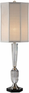 Uttermost 29560-1 Eliza Brushed Nickel Plated Table Top Lamp