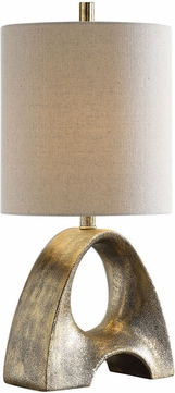 Uttermost 29562-1 Ladler Metallic Gold Table Lighting