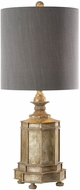 Uttermost 29614-1 Falerone Distressed Golden Lighting Table Lamp