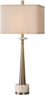 Uttermost 29616-1 Verner Plated Antiqued Brass Table Lamp Lighting