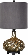 Uttermost 29775-1 Cotati Antique Gold Table Lamp Lighting