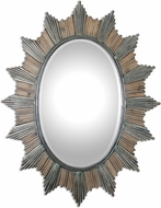 Uttermost 7694 Sunniva Dark Oxidized Bronze Wall Mirror