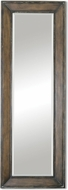 Uttermost 9522 Kerrigan Heavily Burnished Pine / Rust Tall Mirror