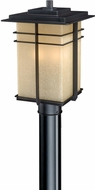 Vaxcel AB-OPU090NB Ashbee Mission Noble Bronze Outdoor Post Lighting