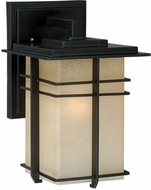 Vaxcel AB-OWD070NB Ashbee Craftsman Noble Bronze Exterior Wall Sconce