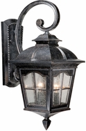 Vaxcel AD-OWU090BP Arcadia Traditional Burnished Patina Finish 21.25 Tall Exterior Sconce Lighting