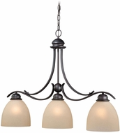 Vaxcel AL-PDD360OBB Avalon Oil Burnished Bronze Kitchen Island Lighting