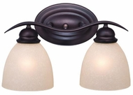 Vaxcel AL-VLD002OBB Avalon Oil Burnished Bronze 2-Light Lighting For Bathroom