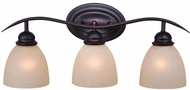 Vaxcel AL-VLD003OBB Avalon Oil Burnished Bronze 3-Light Bathroom Light