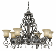 Vaxcel BG-PDB420PZ Bellagio Traditional Parisian Bronze 42  Wide Chandelier Light