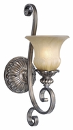 Vaxcel BG-VLU001PZ Bellagio Traditional Parisian Bronze Finish 20.25  Tall Wall Sconce Light