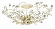 Vaxcel C0024 Jardin French Cream Finish 7  Tall Ceiling Light