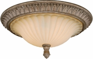 Vaxcel C0081 Avenant French Bronze Flush Mount Light Fixture