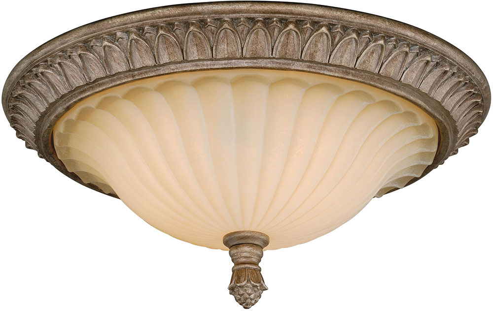vaxcel c0081 avenant french bronze flush mount light