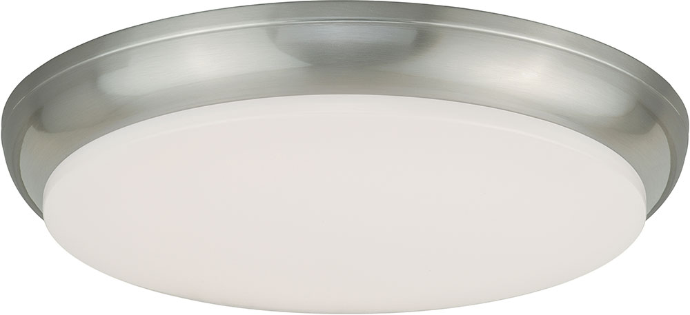 Vaxcel c0084 apollo satin nickel led flush mount ceiling light vaxcel c0084 apollo satin nickel led flush mount ceiling light fixture loading zoom aloadofball Choice Image
