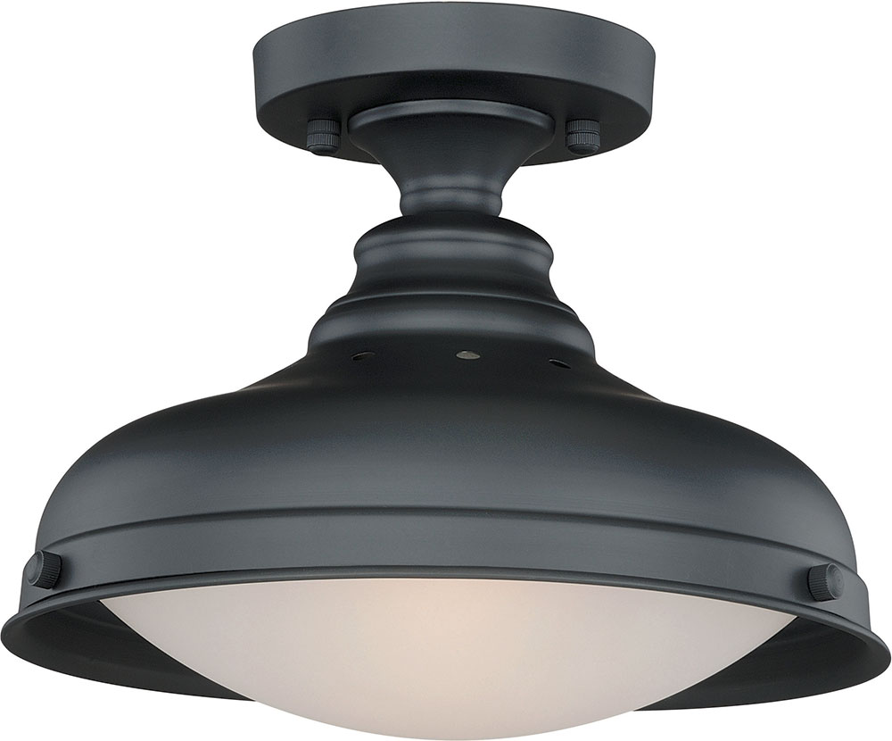 Vaxcel C0113 Keenan Oil Rubbed Bronze Ceiling Lighting Fixture. Loading zoom  sc 1 st  Affordable L&s & Vaxcel C0113 Keenan Oil Rubbed Bronze Ceiling Lighting Fixture ... azcodes.com