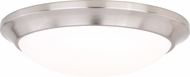 Vaxcel C0124 Leo Bluetooth Satin Nickel LED Ceiling Lighting
