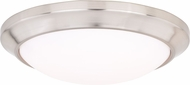Vaxcel C0126 Leo Bluetooth Satin Nickel LED Ceiling Light